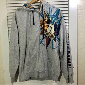 Disneyland Resort zip up hoodie